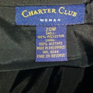 Charter Club Skirts - Womens dressy black skirt NWT